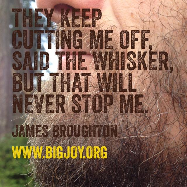 whisker HighKuKu by James Broughton
