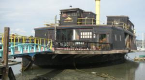 Alan WATTS houseboat